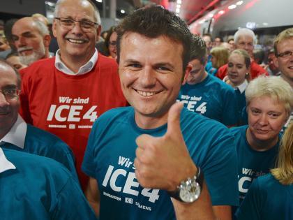 Premiere in Berlin – der ICE 4 ist da!