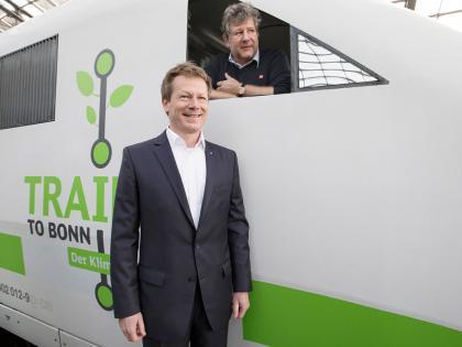 """""""Train to Bonn"""" – im Sonderzug zur UN-Klimakonferenz 2017"""