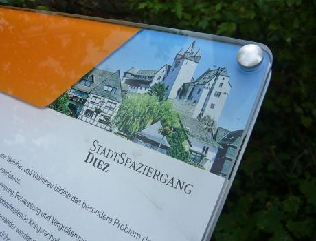 Stadtspaziergang Diez