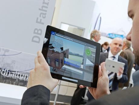 DB Fahrzeuginstandhaltung GmbH – Augmented Reality-Anwendung