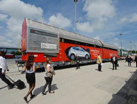 DB Fahrzeuginstandhaltung GmbH auf der transport logistic, München