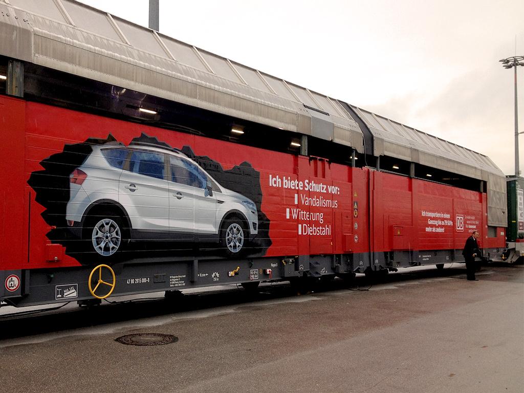 transport logistic, München – Waggonbeschriftung