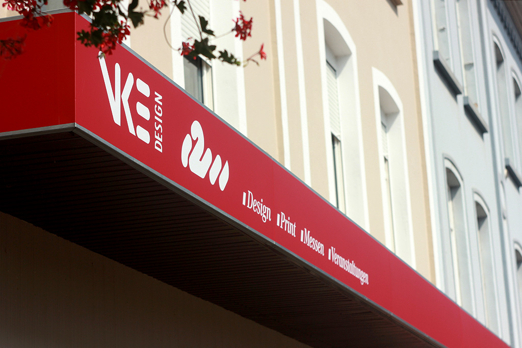 VKE Design – Bürofassadengestaltung