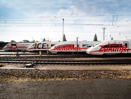 25 Jahre ICE – Moderne Mobilität auf der Schiene