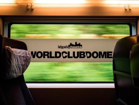 Feiern im schnellsten Club-Train der Welt!